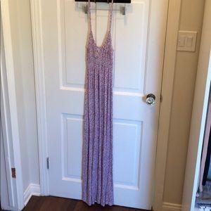 Rachel Pally V Neck Floral Maxi Dress.